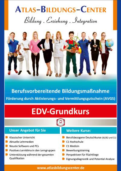 Flyer zum EDV-Grundkurs